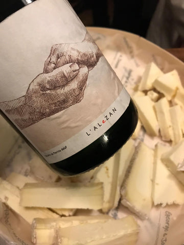 wine and cheese tasting with wayward wines