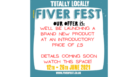 fiver fest george and joseph £5 offer for totally locally