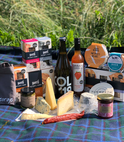 peter's yard and george & Joseph cheesemongers prize giveaway hamper worth £125