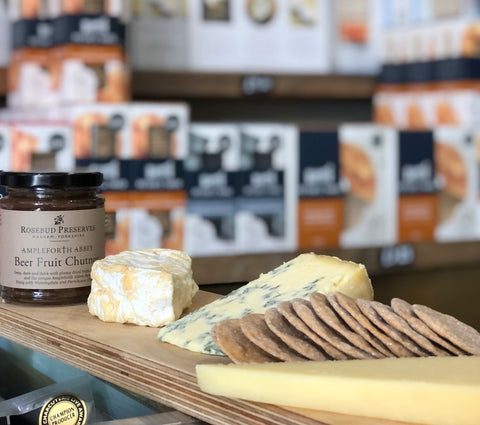 peter's yard sourdough crackers available in george & joseph cheesemongers north leeds