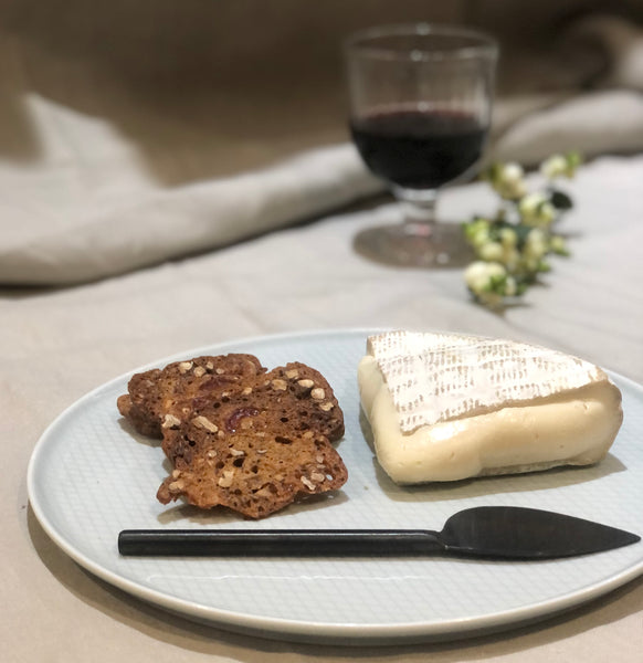 wigmore cheese with quince toast for cheese