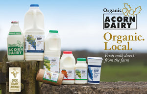 Acorn Dairy Organic Double Cream 10oz