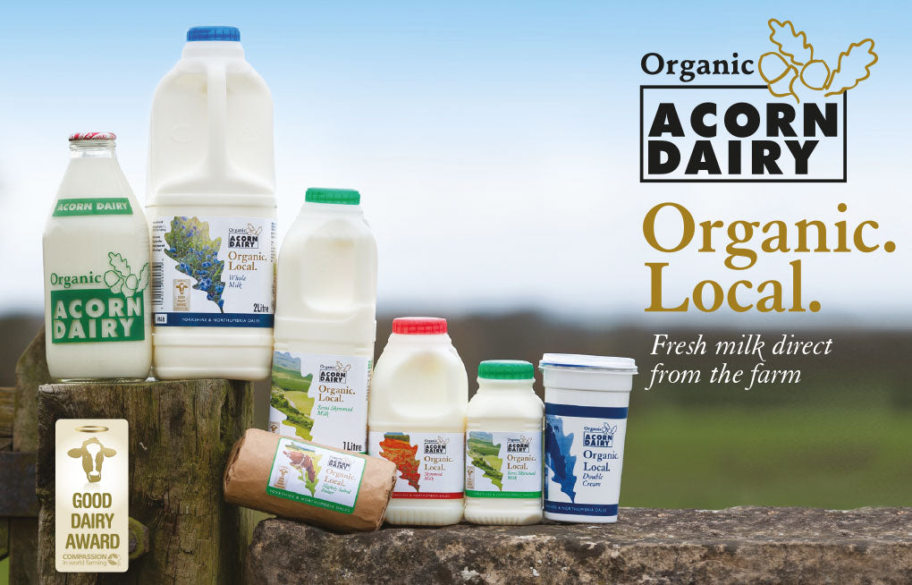 Acorn Dairy Organic Salted Butter 250g