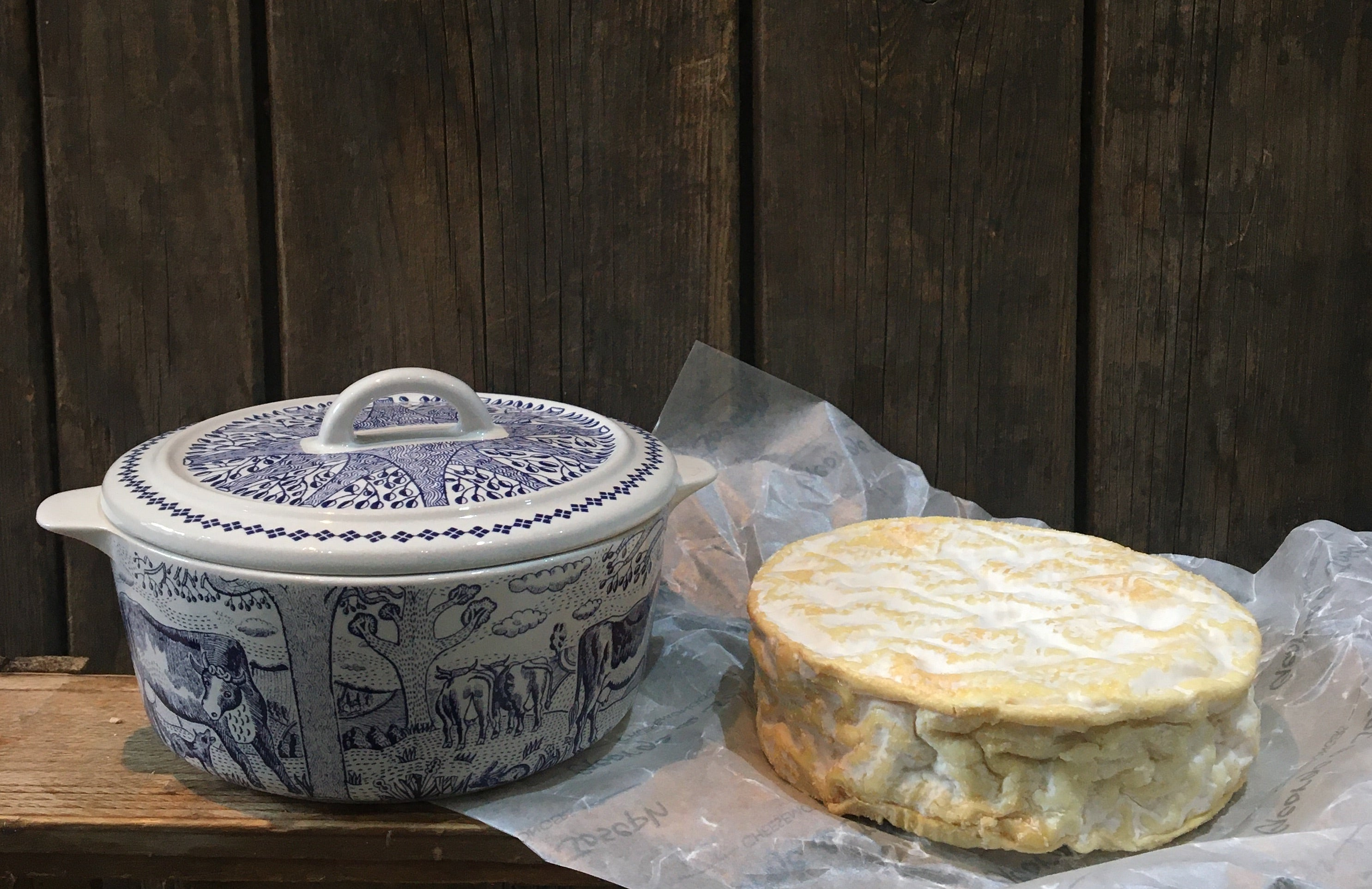 fine cheese co ceramic cheese baker and camembert