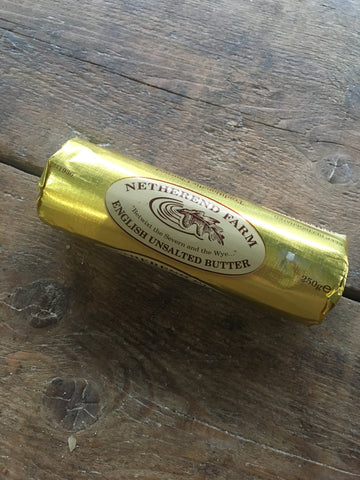 Netherend Farm Unsalted Butter 250g
