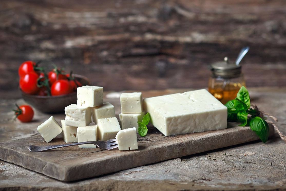 feta style sheep's milk cheese