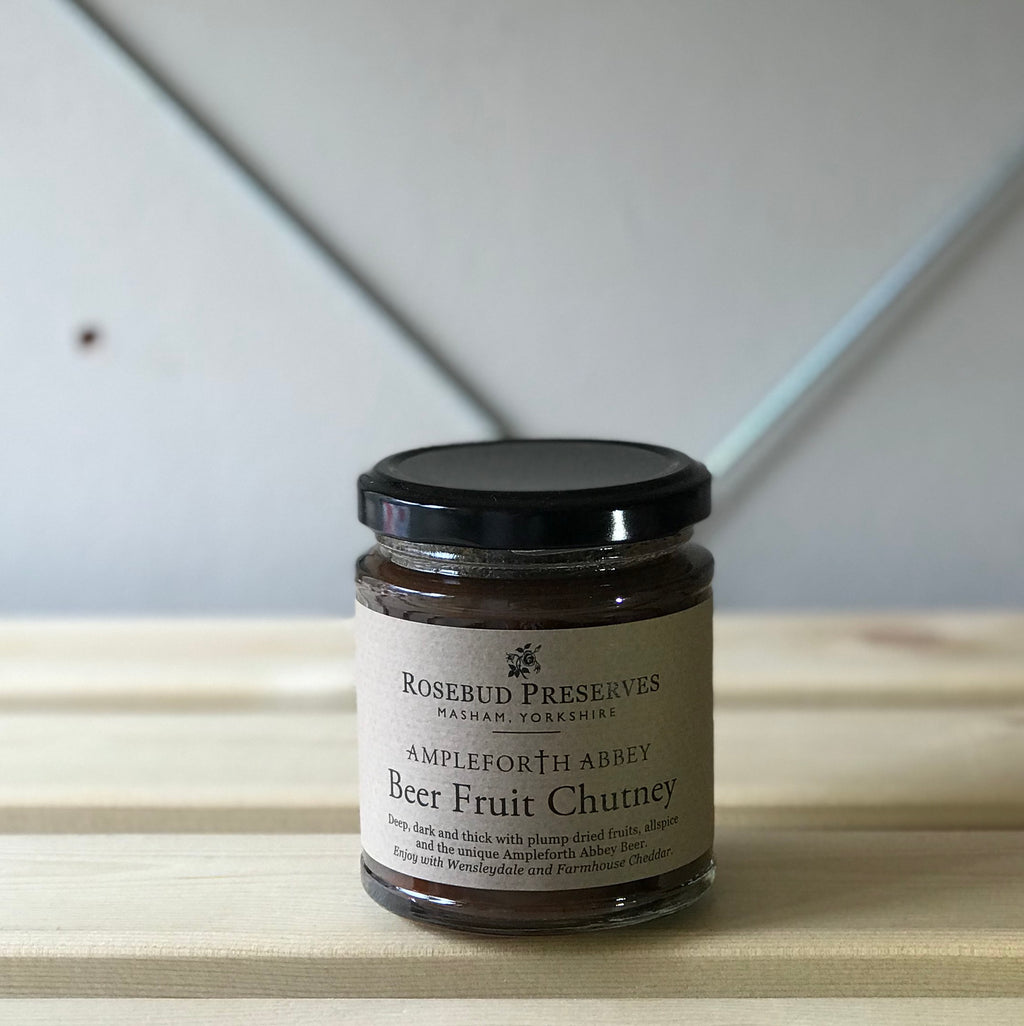 rosebud preserves ampleforth abbey beer fruit chutney
