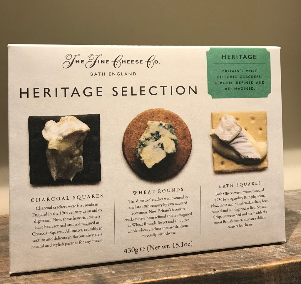 fine cheese co heritage cracker selection