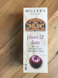 millers toast plum and date