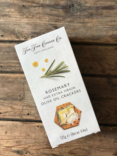 fine cheese co rosemary and EVOO crackers