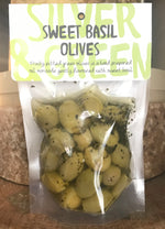 Load image into Gallery viewer, Silver & Green Olives