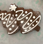 Load image into Gallery viewer, christmas tree gingerbread cookies