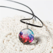 Load image into Gallery viewer, Planet Crystal Stars Ball Necklace