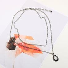 Load image into Gallery viewer, Crystal Charm Chokers Necklace