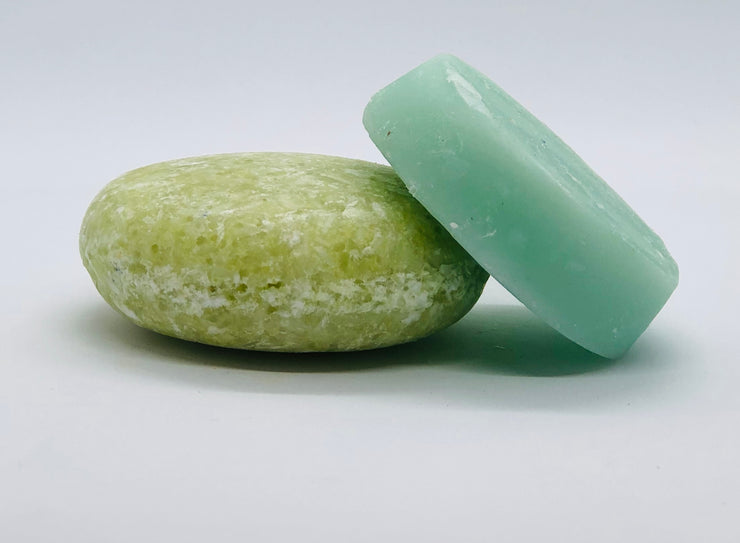 Coconut Lime Shampoo and Conditioner Bar (4 oz)