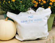 Save The Wave Skincare Reusable Cotton Tote