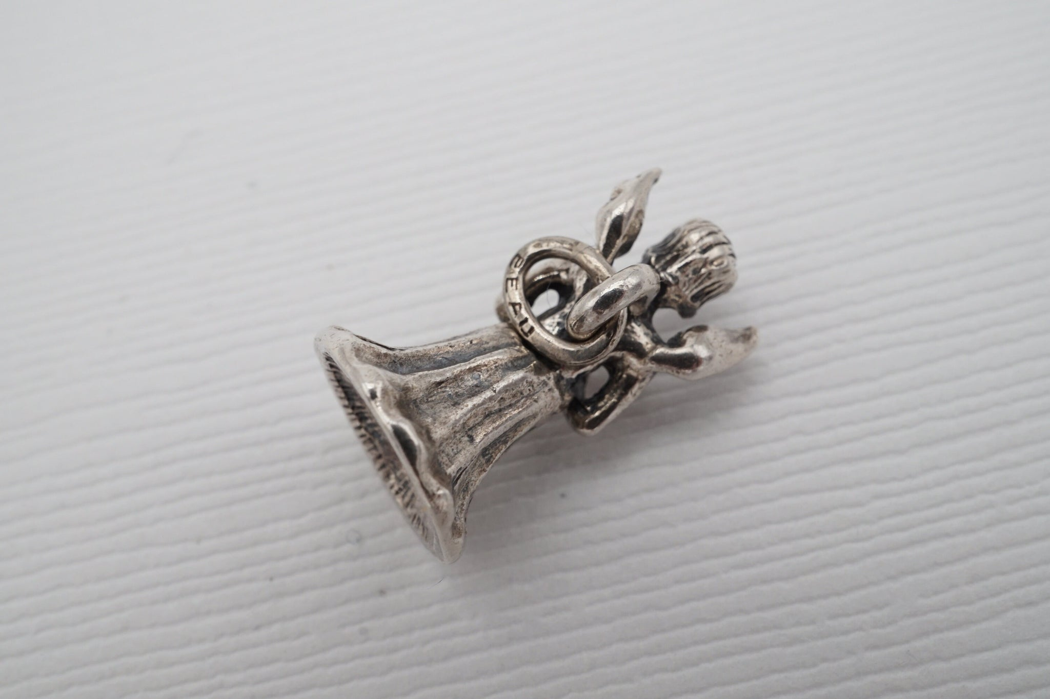 vintage beau sterling angel charm