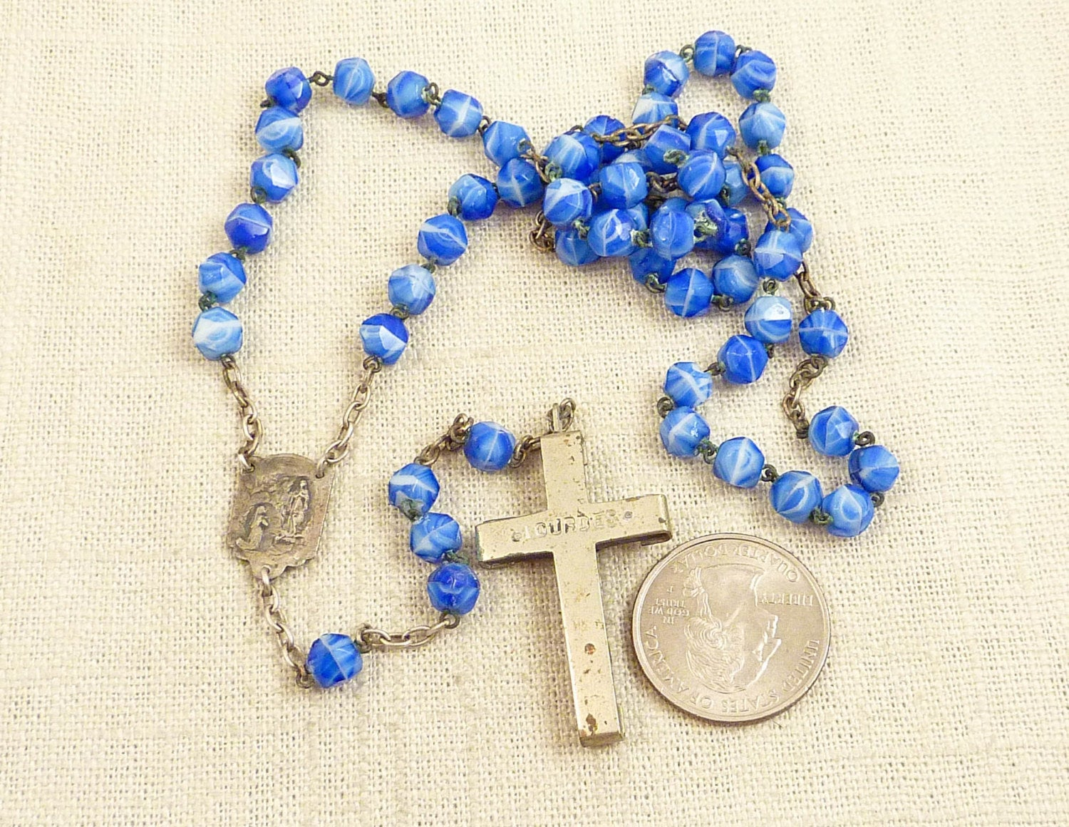 Brilliant French Antique Rosary