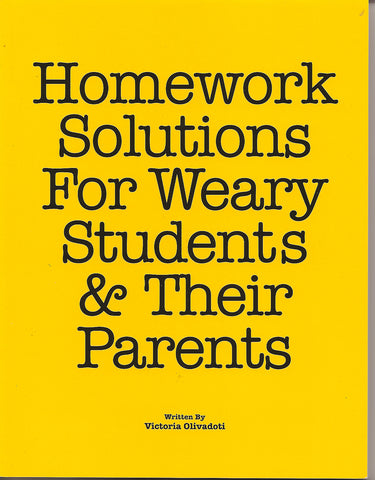 Homework Solutions for Weary Students and Their Parents
