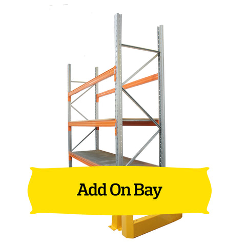 Add-On Bay Acerack Selective Pallet Racking