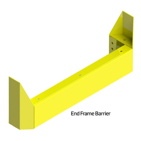Racking Protection End Frame Barrier