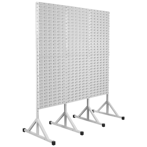 3 x Louver Panel with stand connected