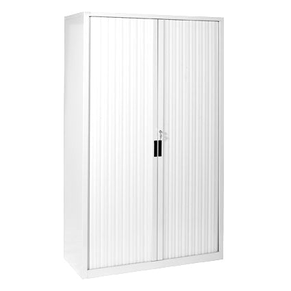 White satin full height 1200W cabinet