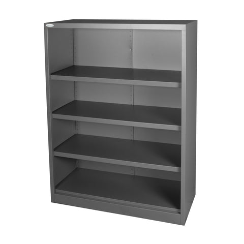 1320 High Graphite Bookcase with 3 adjustable shelves