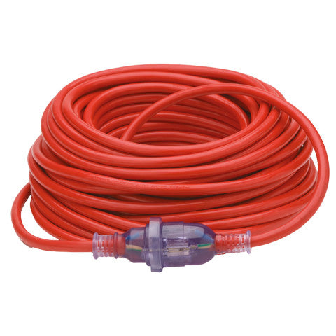 15 Amp Red Extension Cable