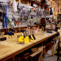 Shed - Workbenches