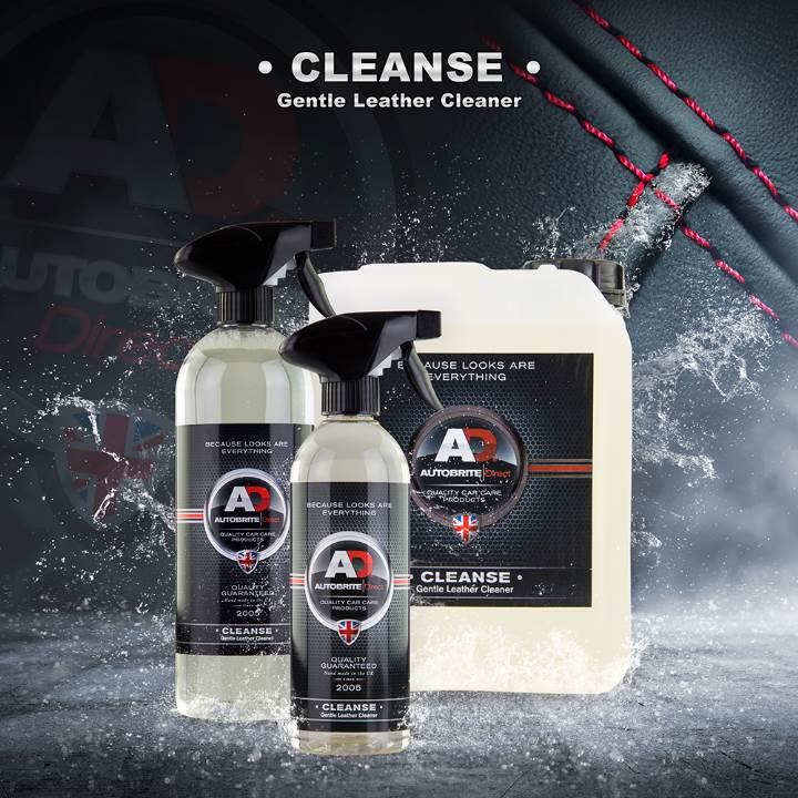 Autobrite Direct Cleanse - Gentle Leather Cleaner 500ml