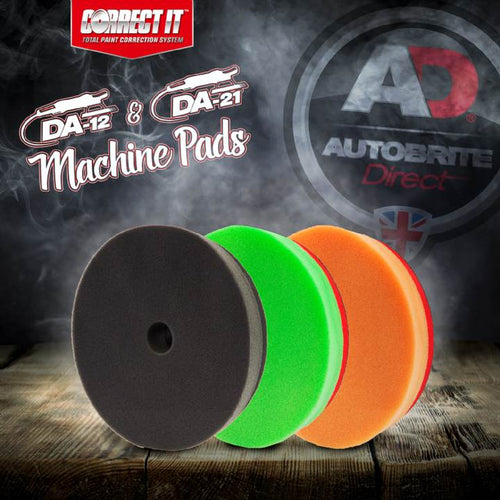 Autobrite Direct - Correct It! DA12/DA21 Dual Action Machine Polisher Pads