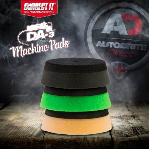 Autobrite Direct - Correct It! DA3 Dual Action Machine Polisher Pads