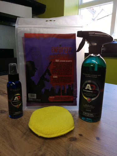 Autobrite Glass Cleaner And Sealant Kit