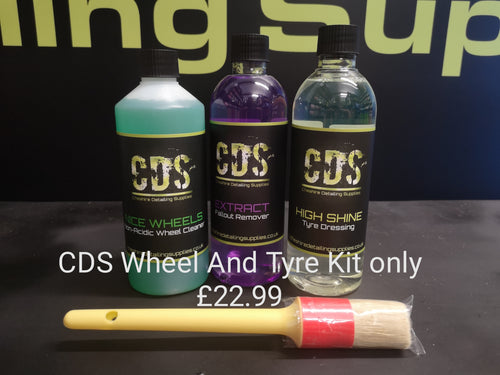CDS Wheel and Tyre Kit
