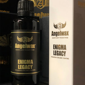 Angelwax Enigma Legacy 50ml Titanium Ceramic coating.