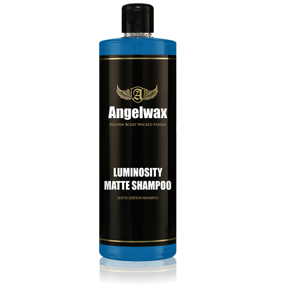 Angelwax Luminosity Shampoo – Speciality Matte Shampoo 500ml