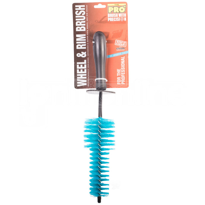 CDS Car Alloy Wheel Tyre Cleaning Brush Valeting Soft Bristles Trim Grill