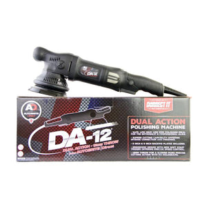 Autobrite DA12 Dual Action Polisher 12mm WITH FREE ENRICH COMPOUND AND TOWEL