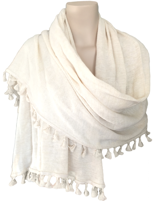 Cotton Shawl - Leonaura
