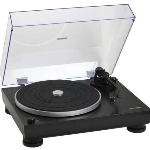 LP5 Direct Drive High Fidelity Turntable | Black