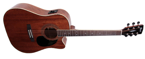 AD880CEM Mahogany Dreadnought w/ Pick Up