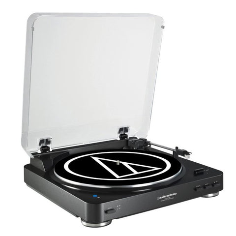 LP60BT Wireless Belt-Drive Stereo Turntable | Black