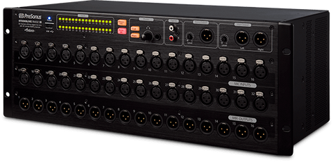 RM32AI 32 Channel Rack Mount Digital Mixer
