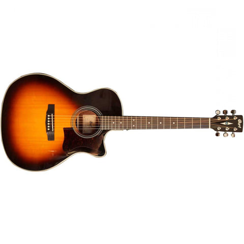 AF520 Vintage Sunburst Cutaway w/ Pick Up