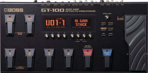 GT-100 Amp Effects Processor