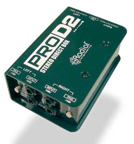 ProD2 Stereo Direct Box