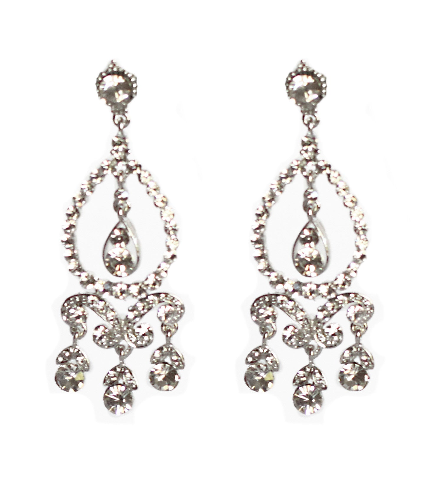 Leah Bridal Earrings - Perle Jewellery & Makeup  - 1