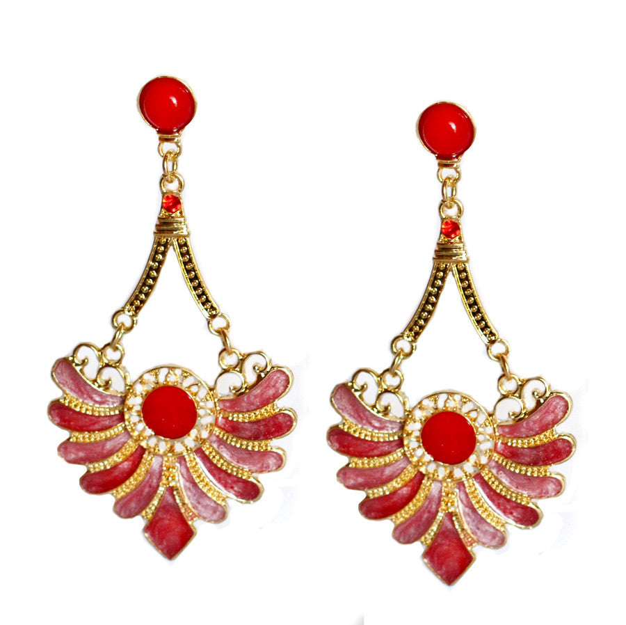 Extravagant Flamenco Earrings