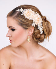 Angel Bridal Headpiece - Perle Jewellery & Makeup  - 1